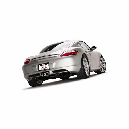 Borla Cayman/ Cayman S/ Boxster/ Boxster S 2005-2008 Cat-Back Exhaust part # 12654