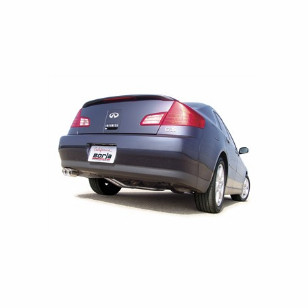Borla G35 Sedan RWD Only 2003-2006 Cat-Back Exhaust part # 140093
