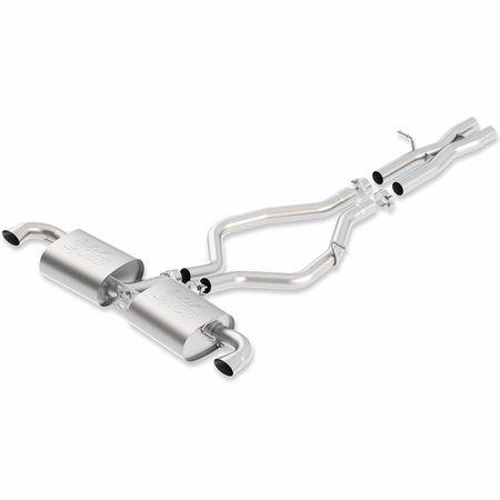 Borla TT-RS Quattro 2012-2013 Cat-Back Exhaust ATAK part # 140473