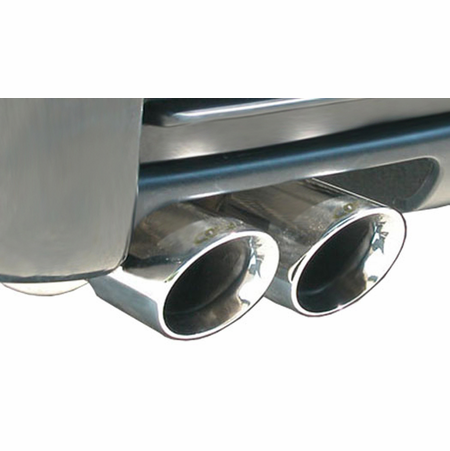 "CORSA 2.25"" Single Rear Cat-Back Exhaust 1999-2006 BMW 328i/is E46 Sedan"