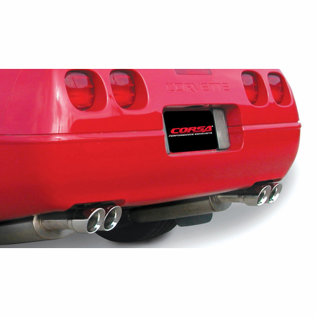 "CORSA 2.5"" Dual Rear Cat-Back Exhaust 1992-1995 Chevrolet Corvette C4 5.7L V8 LT1"