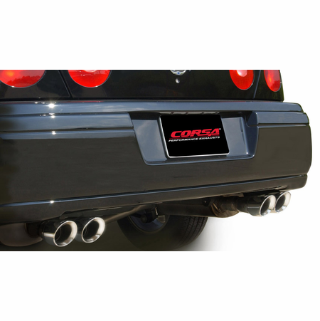 "CORSA 2.5"" Dual Rear Cat-Back Exhaust 2000-2005 Chevrolet Impala 3.4L V6"