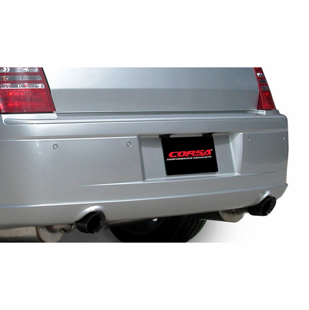 "CORSA 2.5"" Dual Rear Cat-Back Exhaust 2005-2010 Dodge Magnum R/T No Towing Hitch 5.7L V8"