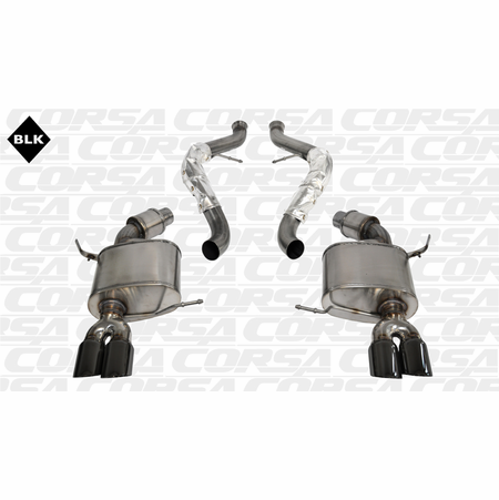"CORSA 2.5"" Dual Rear Cat-Back Exhaust 2008-2012 BMW M3 E93 Convertible"