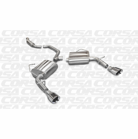 "CORSA 2.5"" Dual Rear Cat-Back Exhaust 2011-2013 Chrysler 200 V6"
