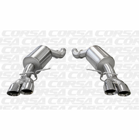 "CORSA 3.0"" Dual Rear Axle-Back Exhaust 2005-2010 BMW M5 E60"