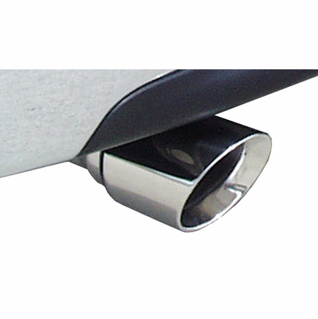 "CORSA 3.0"" Dual Rear Cat-Back Exhaust 2009-2013 GMC Sierra 1500 Regular Cab/Standard Bed 4.8L V8 119"""