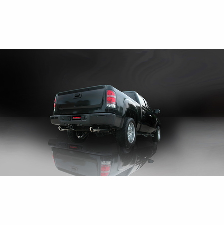 "CORSA 3.0"" Dual Rear Cat-Back Exhaust 2010-2010 Chevrolet Silverado 1500 Crew Cab/Short Bed 6.2L V8 143.5"""