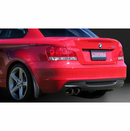 "CORSA 3.0"" Single Rear Axle-Back Exhaust 2008-2010 BMW 135i E82 Coupe"