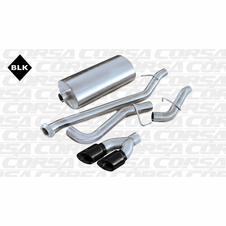 "CORSA 3.0"" Single Side Cat-Back Exhaust 2002-2006 GMC Yukon Yukon 5.3L V8"