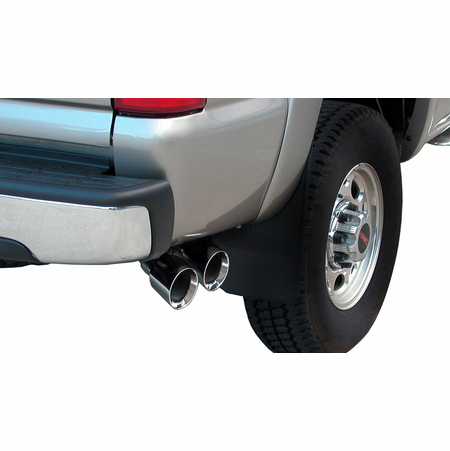 "CORSA 3.0"" Single Side Cat-Back Exhaust 2003-2006 GMC Sierra Denali 2500 Extended Cab/Standard Bed 6.0L V8 143.5"""