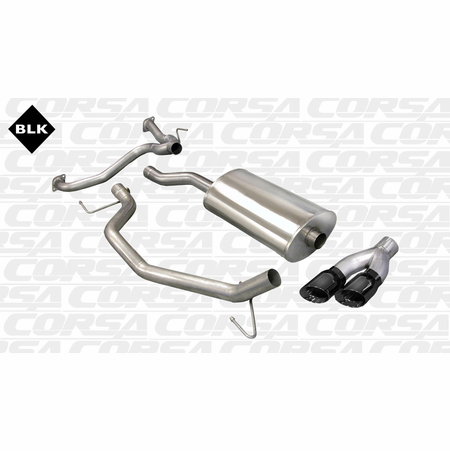 "CORSA 3.0"" Single Side Cat-Back Exhaust 2007-2008 Nissan Titan King/Crew Cab 5.6L V8"