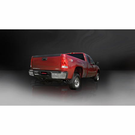 "CORSA 3.0"" Single Side Cat-Back Exhaust 2007-2010 GMC Sierra 2500 Regular Cab/Long Bed 6.0L V8 133"""