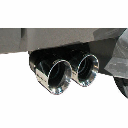 "CORSA 3.0"" Single Side Cat-Back Exhaust 2009-2009 Chevrolet Silverado 1500 Extended Cab/Standard Bed 5.3L V8 143.5"""