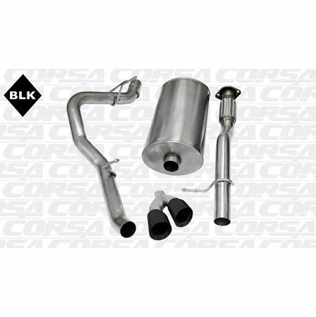 "CORSA 3.0"" Single Side Cat-Back Exhaust 2009-2013 GMC Yukon XL 1500 6.0L V8"
