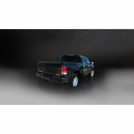 "CORSA 3.0"" Single Side Cat-Back Exhaust 2010-2013 GMC Sierra 1500 Crew Cab/Short Bed 5.3L V8 143.5"""