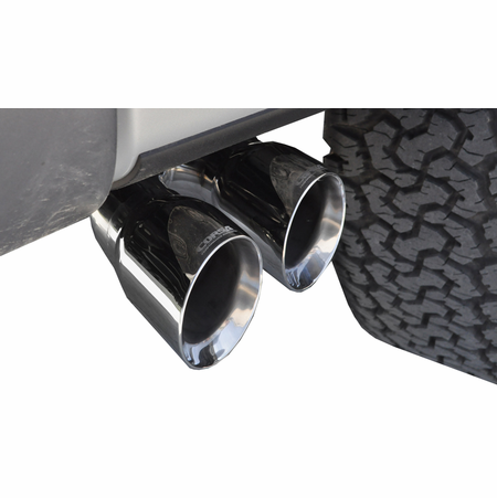 "CORSA 3.0"" Single Side Cat-Back Exhaust 2011-2014 Ford F-150 Raptor SuperCrew 6.2L V8 144"""