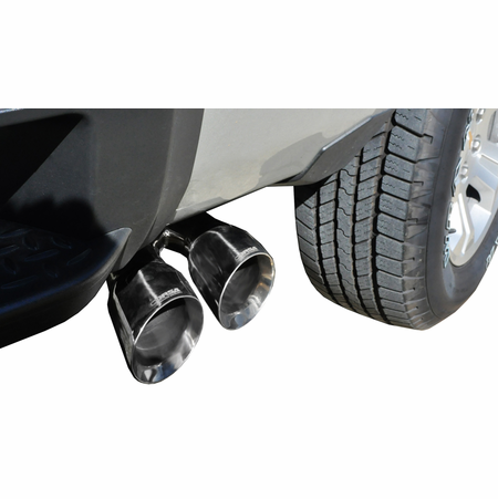 "CORSA 3.0"" Single Side Cat-Back Exhaust 2014-2014 Chevrolet Silverado 1500 Crew Cab/Short Bed 5.3L V8 Manual 143.5"""