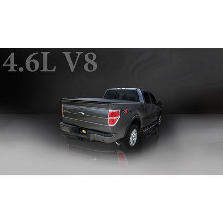 "CORSA/dB 3.0"" Single Side Cat-Back Exhaust 2005-2008 Ford F-150 SuperCrew/5.5' Bed 5.4L V8"
