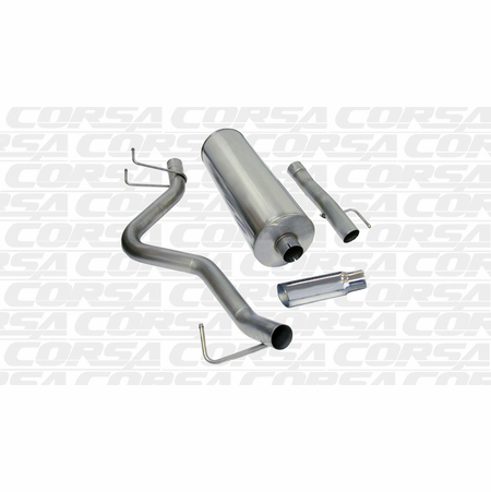 "CORSA/dB 3.0"" Single Side Cat-Back Exhaust 2006-2007 Dodge Ram 1500 Quad Cab/Short Bed 5.7L V8"