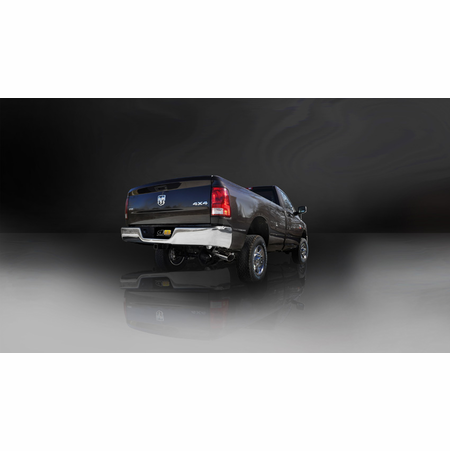 "CORSA/dB 3.0"" Single Side Cat-Back Exhaust 2010-2013 Dodge Ram 2500 Crew Cab/Long Bed 5.7L V8"