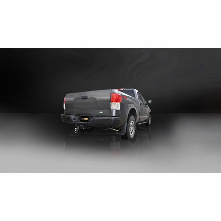 """CORSA/dB 3.0"""" Single Side Cat-Back Exhaust 2011-2014 Toyota Tundra Double Cab/Crew Max 5.7L V8 145.7"""""""