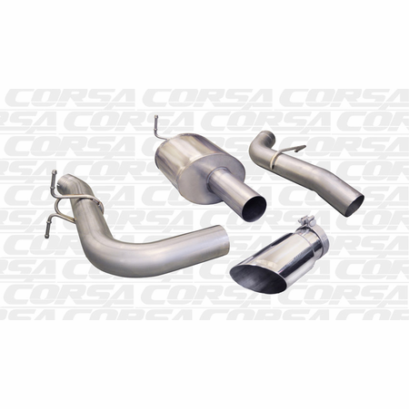 "CORSA/dB 4.0"" Single Side Cat-Back Exhaust 2011-2013 Ford F-250 6.2L V8"