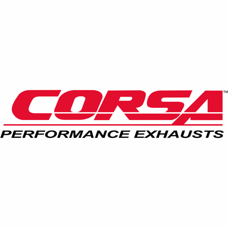 "CORSA 3.0"" Single Side Cat-Back Exhaust 2011-2014 Ford F-150 EcoBoost 3.5L V6 163.1"""