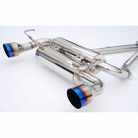 Invidia Gemini Single Layer Titanium Tips Cat-Back Exhaust for 09-UP Infiniti FX35 2/4WD