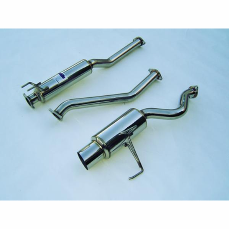 Invidia N1 Cat-Back Exhaust 02-05 Honda Civic Si