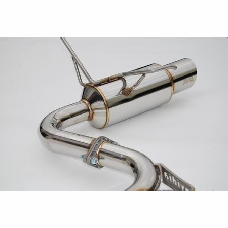 Invidia N1 Dual Stainless Steel Tips Cat-Back Exhaust 08-14 Subaru WRX/STI 4DR