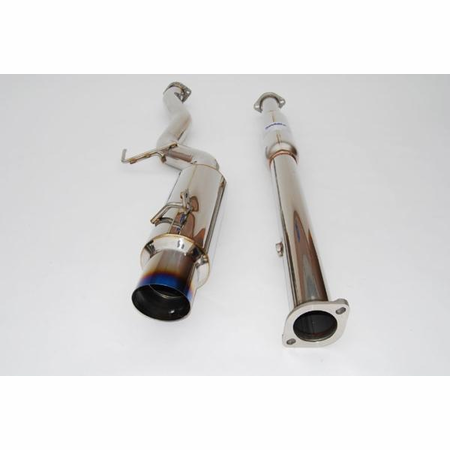Invidia N1 Single Layer Titanium Tip Cat-Back Exhaust 03-08 Mitsubishi EVO 8