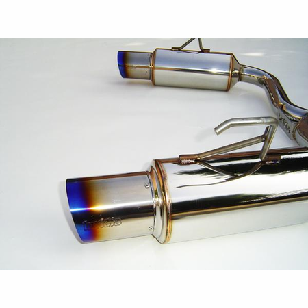 Invidia N1 Titanium Tips 70mm Pipe Cat-Back Exhaust 00-09 Honda S2000 AP1