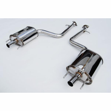 Invidia Q300 No Tips Axle-Back Exhaust 12-UP Lexus GS350