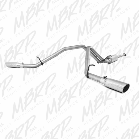"MBRP 3"" Cat Back, Dual Split Side, AL 2007-2010 Chevy/GMC 1500 Denali"
