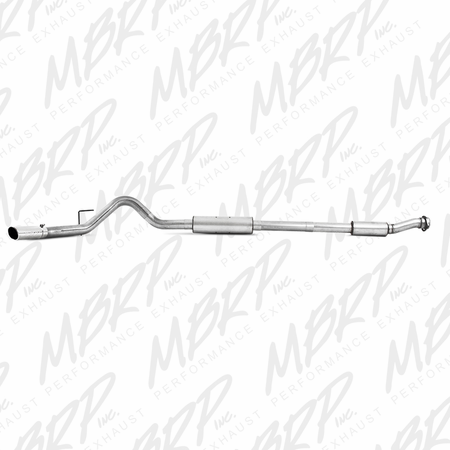"MBRP 3½"" Cat Back, Single Side, AL 2011-2014 Ford F-150 6.2L V8 CC/EC & Reg Cab(LB)"