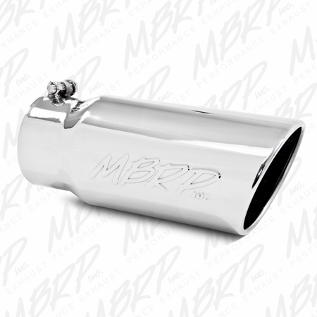 "MBRP 4"" Down Pipe Back, EC/CC, Off Road, Single Turn Down, T409 2001-2007 Chevy/GMC 2500/3500 Duramax, EC/CC"