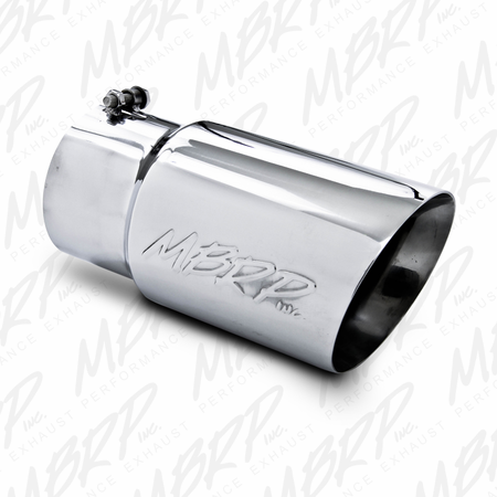 """MBRP 5"""" Down Pipe Back, Off Road, Single Turn Down, T409 2001-2007 Chevy/GMC 2500/3500 Classic"""
