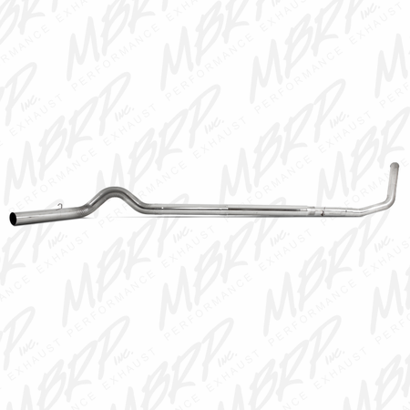 """MBRP 5"""" Turbo Back, Off Road, Single, No Muffler, T409 1999-2003 Ford F250/350 7.3L"""