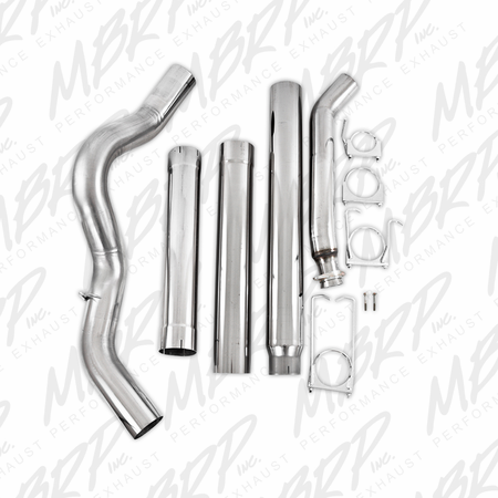 "MBRP 5"" Turbo Back, Single - No Muffler, T409 1994-2002 Dodge 2500/3500 Cummins"