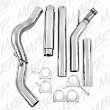 "MBRP 5"" Turbo Back, Single Side Exit, T409 2004-2007 Dodge 2500/3500 Cummins ""600/610"""