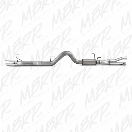 "MBRP Cat Back, 4"" Single Rear, AL 2004-2006 Dodge Ram SRT10 8.3L SC/SB"