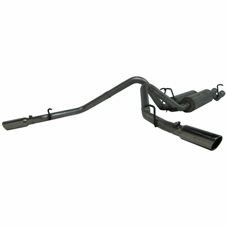 MBRP Cat Back, Dual Split Side, AL 2003-2007 Chevy/GMC 2500 HD 6.0L EC-SB