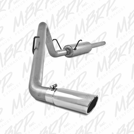 MBRP Cat Back, Single Side, AL 2004-2005 Dodge Ram Hemi 1500 5.7L SC/CC-SB