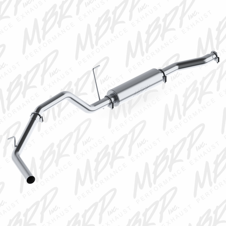 MBRP Cat Back, Single Side, AL 2004-2006 Nissan Titan 5.6L, EC/CC