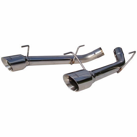 MBRP Dual Axle Back Muffler Delete, T304 2005-2010 Ford Mustang GT