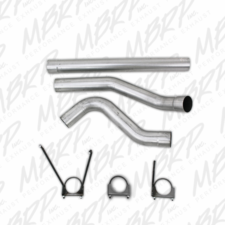 MBRP Filter Back, Single Side Exit, AL 2010 Dodge 2500/3500 Cummins 6.7L