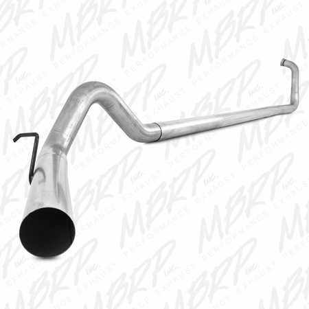 MBRP Turbo Back, Single Side Off-Road - no muffler 2003-2007 Ford F-250/350 6.0L