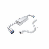 Megan Racing Axle Back Exhaust System: Audi TT 3.2 Quattro 08-09
