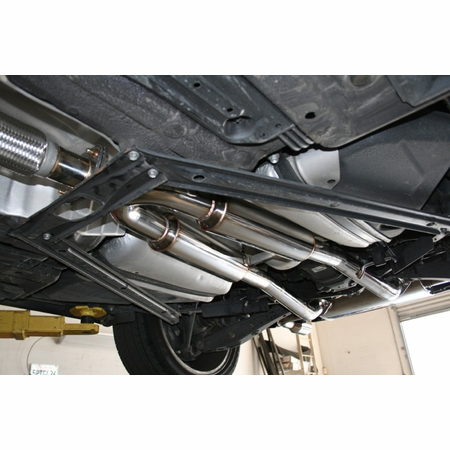 Megan Racing Axle Back Exhaust System: Lexus SC430 01-10 [Polish Tip]